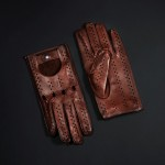 DRIVING GLOVE (BROWN) (HERRENFAHRT 헤른파트)