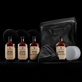 LEATHER CARE COLLECTION with LEATHER BAG (HERRENFAHRT 헤른파트)